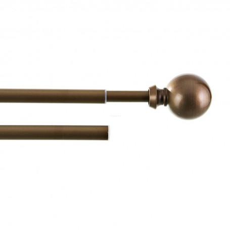 Barra expandible para cortina 229cm - 330cm / 16mm Esfera Studio
