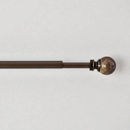 Barra expandible para cortina 122cm - 218cm / 13mm Esfera Marmoleado Home