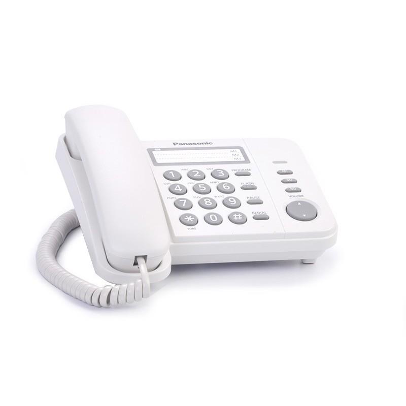 Teléfono alámbrico blanco KX-TS520 Panasonic