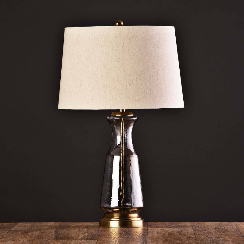 Lámpara de mesa Base Dorado / Gris Haus
