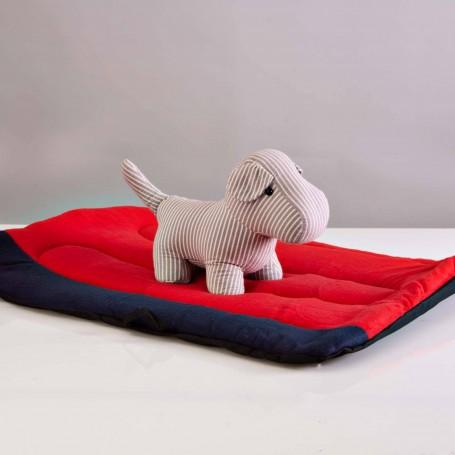 Cama portátil para mascota Rojo / Azul