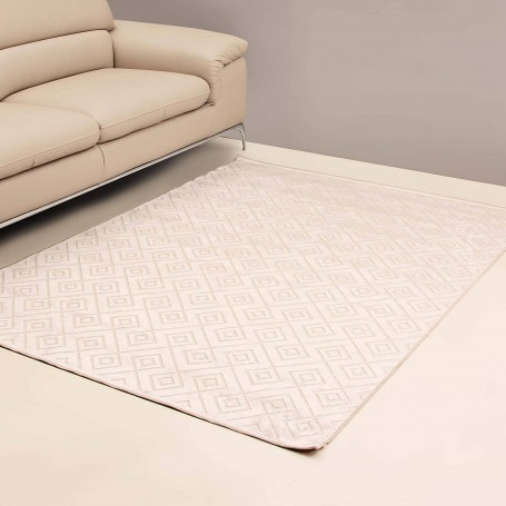 Alfombra Multi Rombos Touch Habano / Beige Verstraete