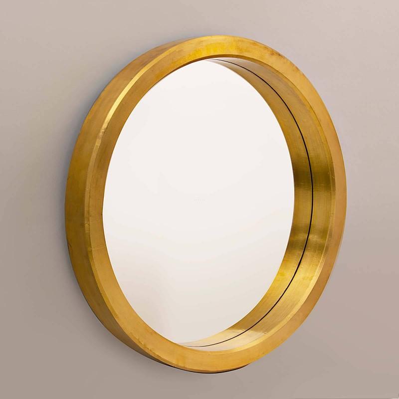 Espejo con marco Dorado Haus