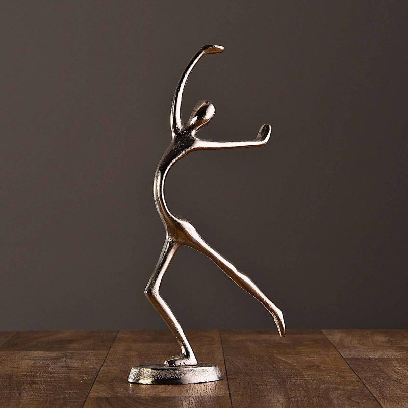 Figura Hombre Danza Silver Haus