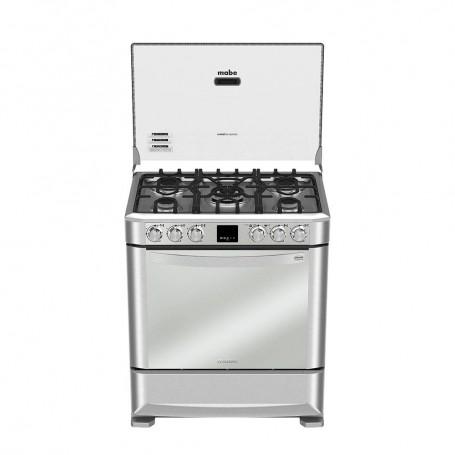 Mabe Cocina a gas con Grill / Encendido eléctrico 5 quemadores 76cm EM7670FX0