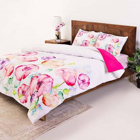Juego de edredón Floral Multi Sublimando Haus