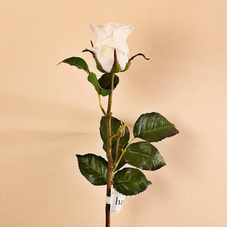 Flor Rosa Poliéster / Plástico / Alambre Haus
