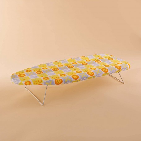 Tabla para planchar de mesa con forro Multicolor Novo