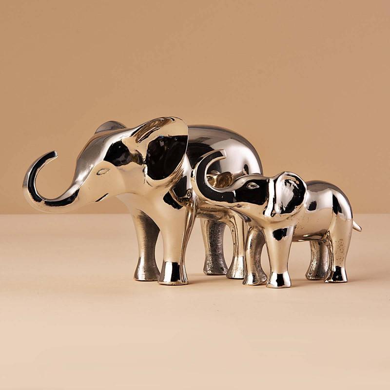 Figura Elefante Silver Haus