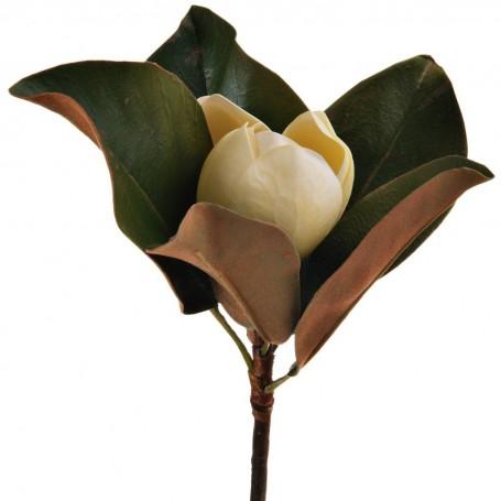 Flor Magnolia Poliéster / Plástico / Alambre Haus