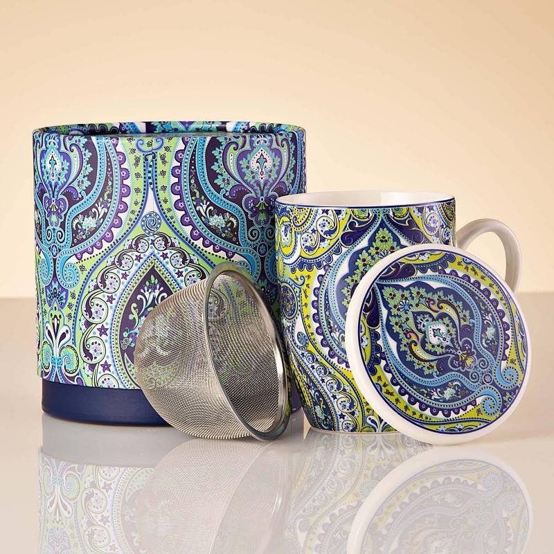 Jarro con infusor, tapa y caja de regalo Arabesco Haus