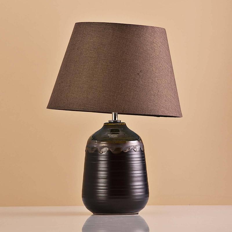 Lámpara de mesa Base Chocolate