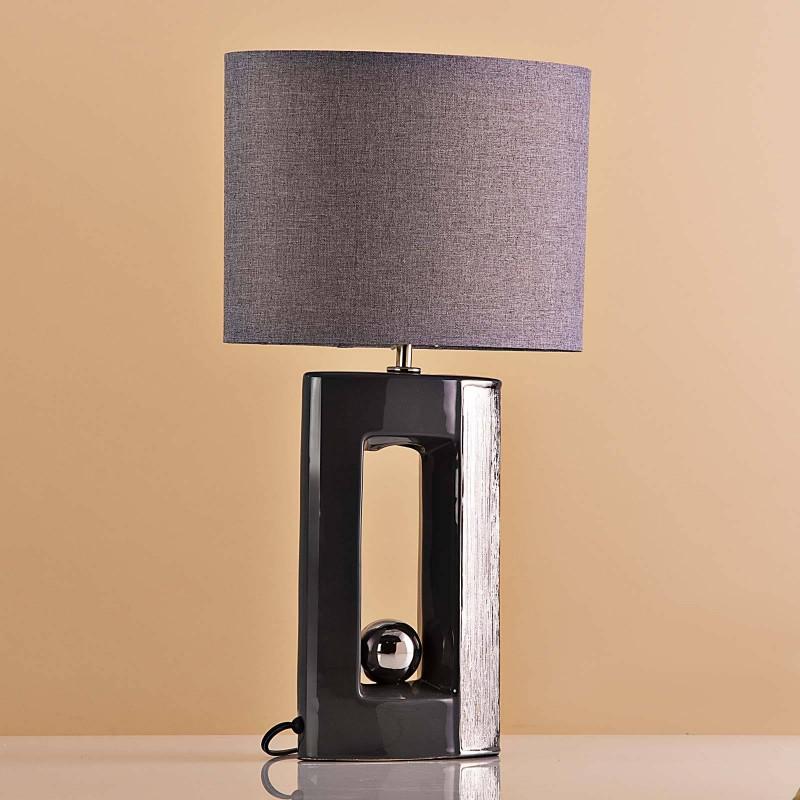 Lámpara de mesa Base Orificio / Esfera