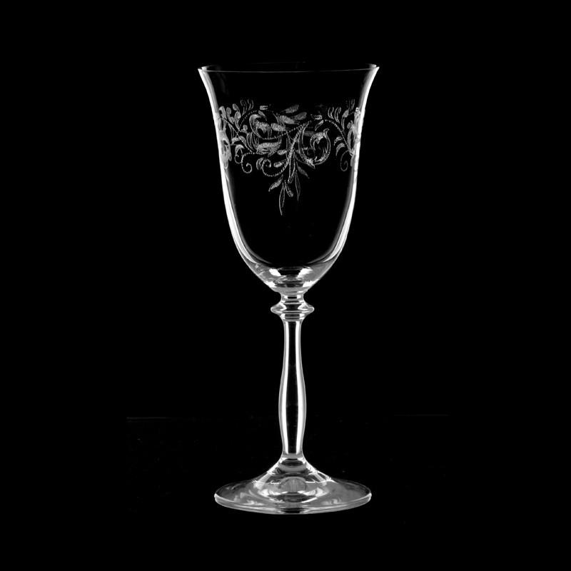 Juego de 6 copas para vino blanco Romance Bohemia Cristal