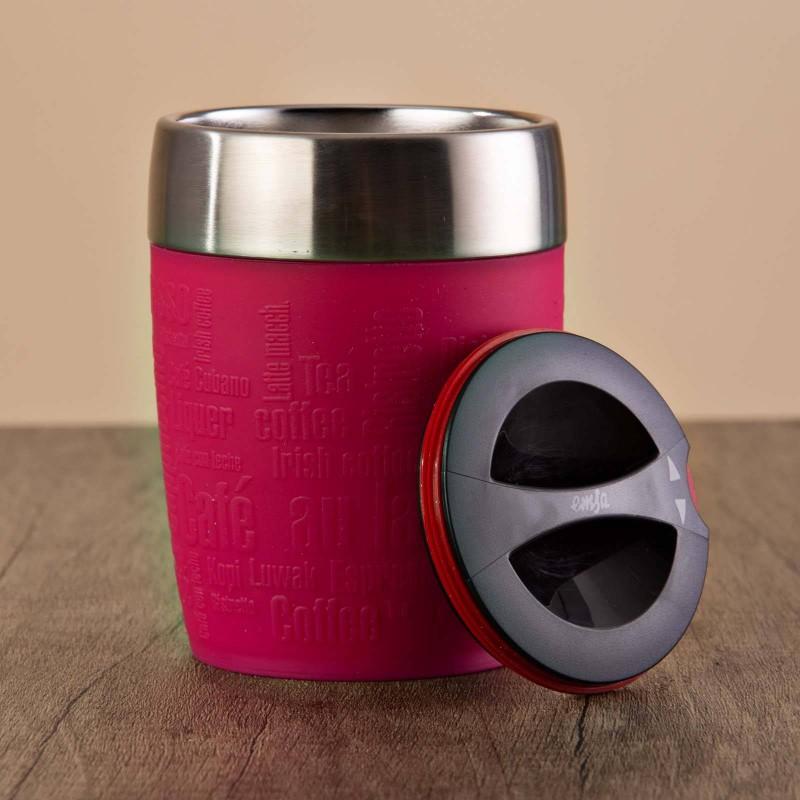 Vaso térmico con tapa para café Emsa