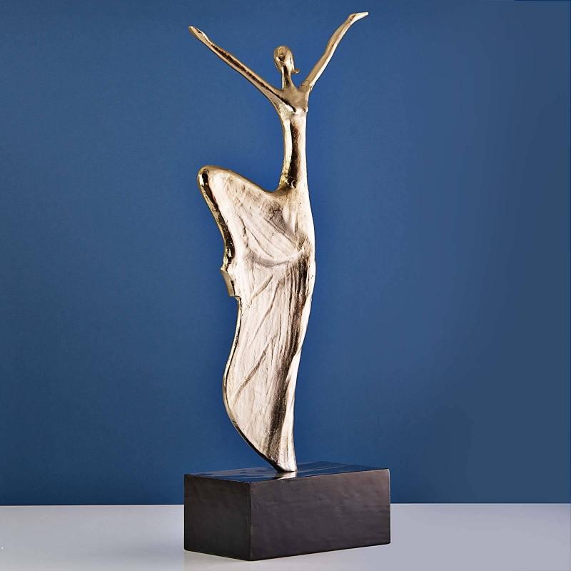 Escultura Bailarina grande con base Haus
