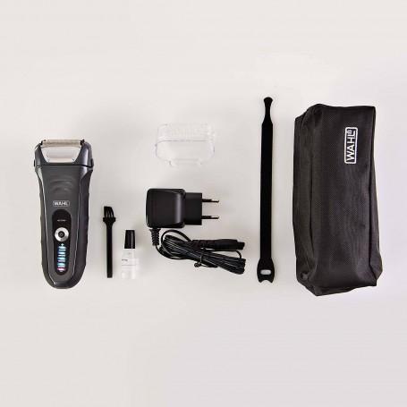 Afeitadora inalámbrica resistente al agua / carga rápida para hombre Aqua Shave Wahl