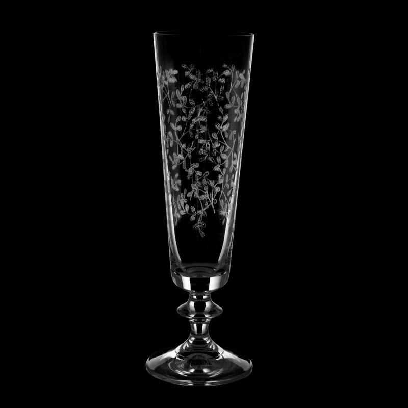 Juego de 6 copas para champagne Provence Bohemia Cristal
