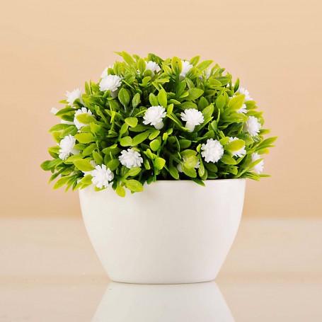 Mini planta artificial con maceta Haus