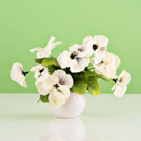 Planta artificial Flor con maceta Haus