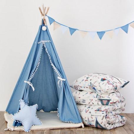 Colección de cama y decoración Azul Ocean Blue