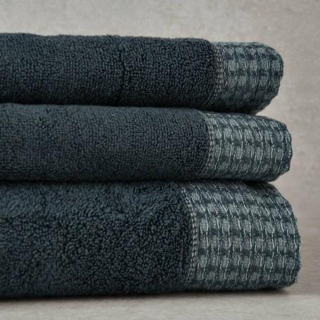 Colección de toallas Borde Cuadros Sousa Dias