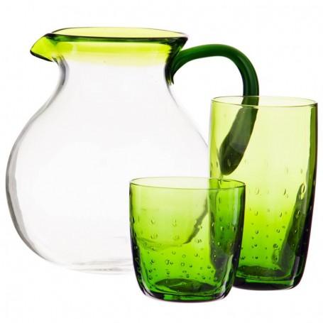 Colección Bubbles Vidrio Verde