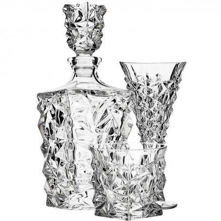 Colección de cristalería Glacier Jihlavske
