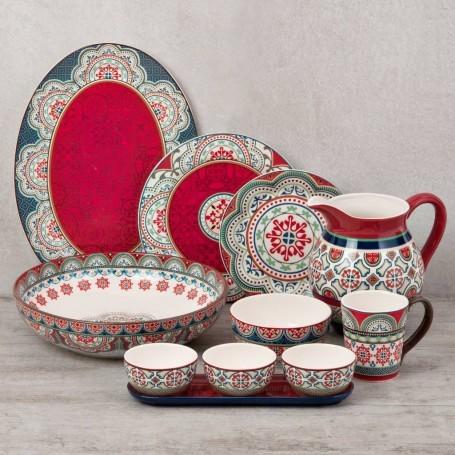 Colección de vajilla Mandala Haus