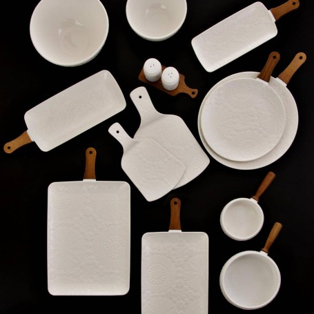 Colección de piezas de servicio Blanco Haus