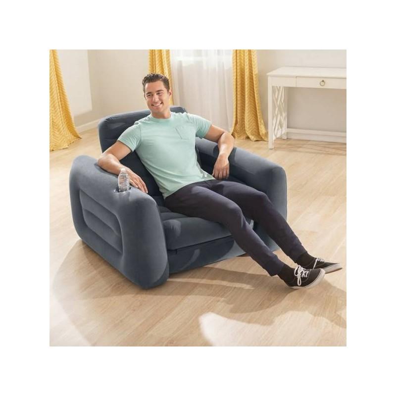 Sofá cama inflable 1 puesto Intex