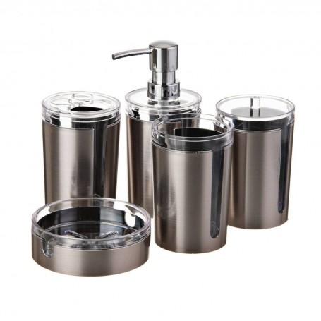 Colección de accesorios para baño Cromo Satinado