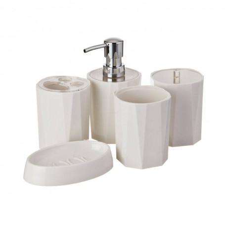 Colección de accesorios para baño Geométrico