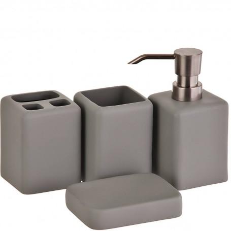 Colección de baño Cuadrado poliresina Haus
