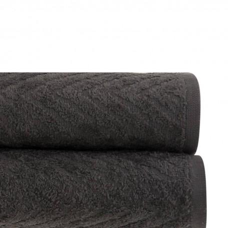 Colección de toallas Jacquard Zig Zag 100% algodón San Pedro