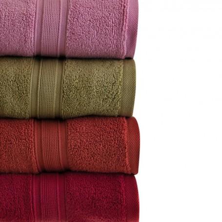 Colección de toallas Solid 100% algodón Haus