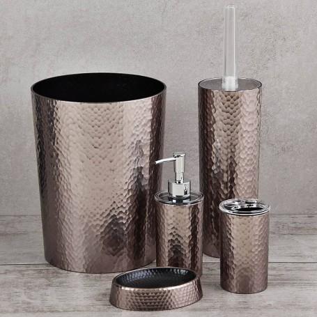 Colección de baño Silver Martillado