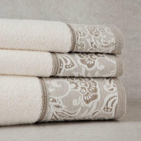 Colección de toallas Borde Flores Sousa Dias