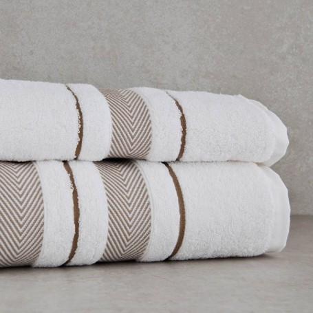 Colección de toallas Herringbone Haus