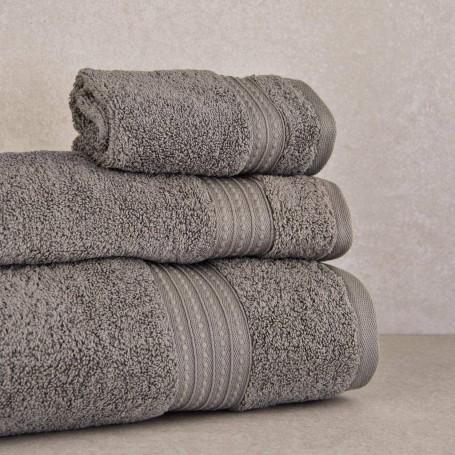 Colección de toallas Pewter Kassatex