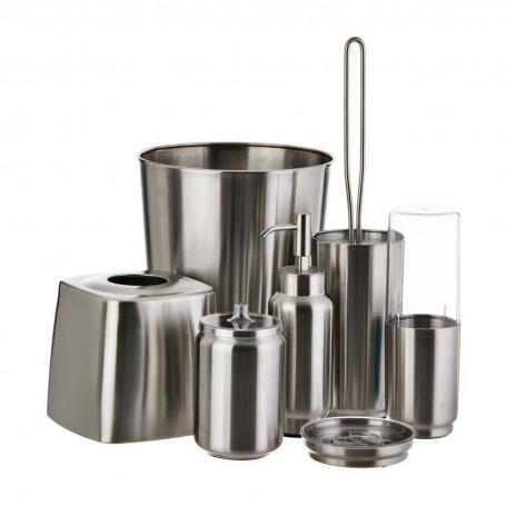 Colección de baño Austin Silver Interdesign