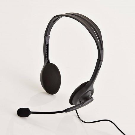 Audífonos Stereo + Micrófono para PC H111 Logitech