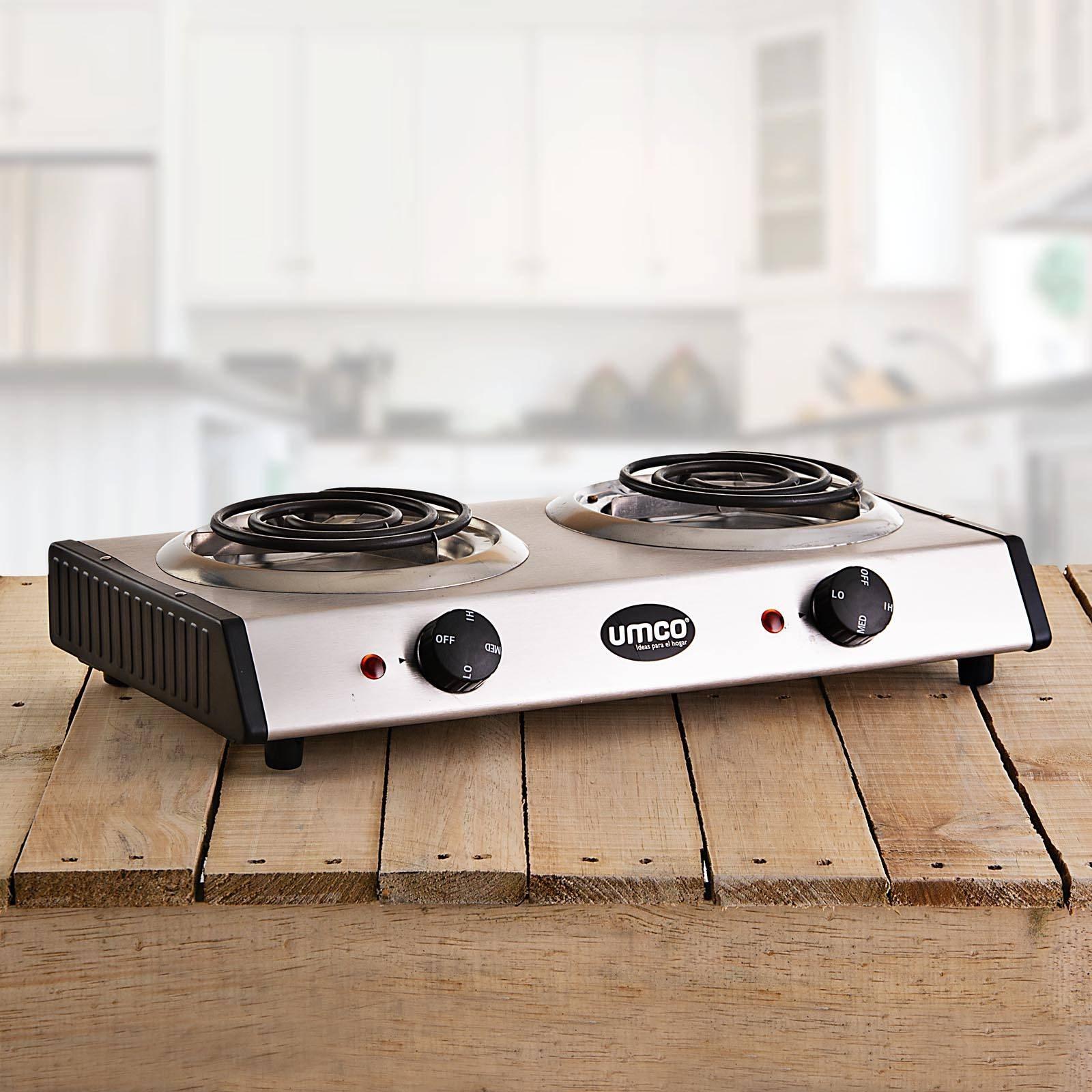 Cocina Electrica 2 Hornillas 1500w Umco Sukasa