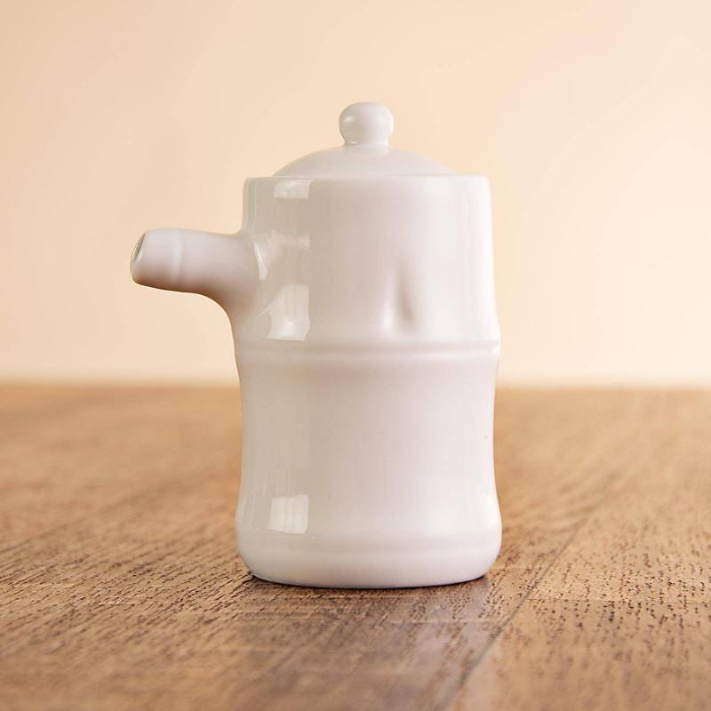 Mini jarra con tapa para soya Haus