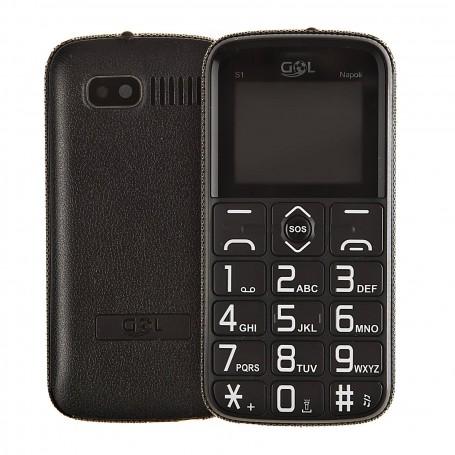 "Teléfono celular CH9800 32GB RAM / VGA / Radio/ SOS / Bluetooth 1.8"""