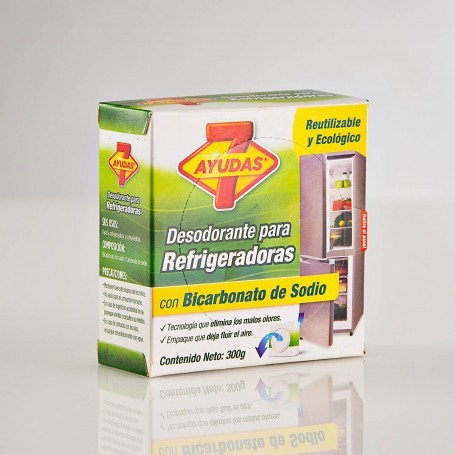 Desodorante para refrigerador Bicarbonato de Sodio 7 Ayudas