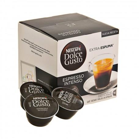 Juego de 16 cápsulas Espresso Intenso Dolce Gusto