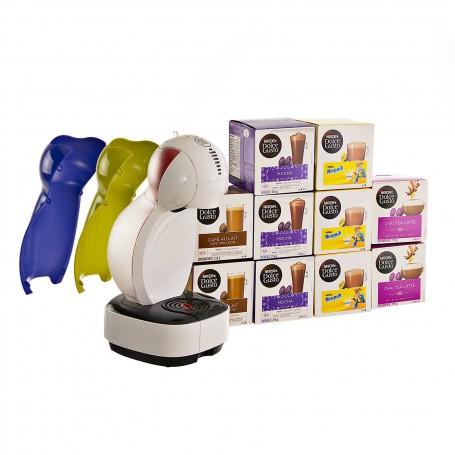 Cafetera eléctrica Colors + 10 cajas de cápsulas Dolce Gusto