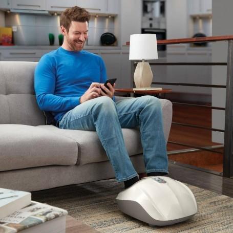 Masajeador programable para pies con calor/ compresión de aire Shiatsu Air 2.0 FMS-351HJ Homedics