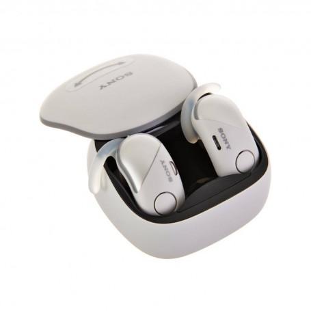 Sony Audífonos Bluetooth Google Assistant / Manos libres WF-SP700N Blanco